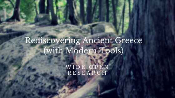 Rediscovering Ancient Greece
